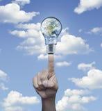 Conceito da conservação de energia, elementos desta imagem fornecidos perto Fotos de Stock