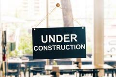 Conceito da construção Imagens de Stock