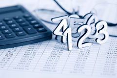 Conceito da contabilidade fotografia de stock royalty free