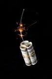 Conceito da crise financeira Foto de Stock