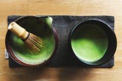 Conceito da cultura de Matcha Tranditional do japonês foto de stock