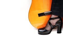 Conceito da dança do Flamenco imagem de stock