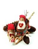 Conceito da decoração do Natal Imagens de Stock Royalty Free