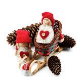 Conceito da decoração do Natal Imagens de Stock