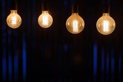 Conceito da decoração da iluminação Imagem de Stock