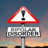Conceito da desordem bipolar. Imagem de Stock