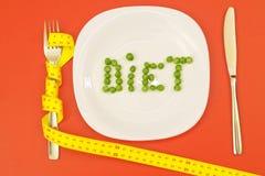 Conceito da dieta imagens de stock