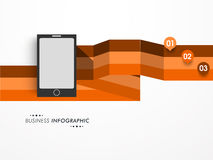 Conceito da disposição infographic do negócio Imagem de Stock