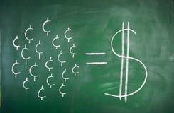 Conceito da economia Fotos de Stock Royalty Free
