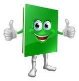 Conceito da educação da mascote do livro Fotografia de Stock Royalty Free