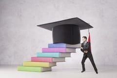 Conceito da educação e da dedicação Imagens de Stock Royalty Free