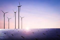 Conceito da energia alternativa Imagens de Stock