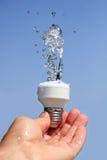 Conceito da energia de Eco Imagem de Stock Royalty Free