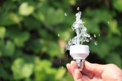 Conceito da energia de Eco Imagem de Stock