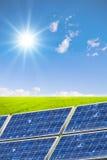 Conceito da energia limpa Fotografia de Stock