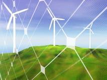 Conceito da energia renovável Fotos de Stock Royalty Free
