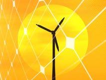 Conceito da energia renovável Fotografia de Stock Royalty Free