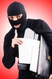 Conceito da espionagem industrial Foto de Stock Royalty Free
