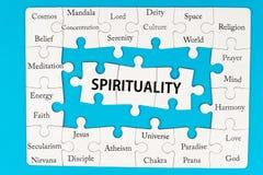 Conceito da espiritualidade fotografia de stock royalty free