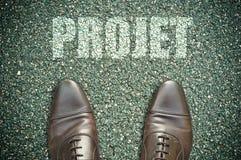 Conceito da estrada - projeto Imagem de Stock