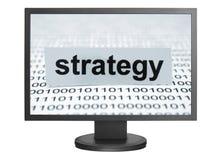Conceito da estratégia Foto de Stock Royalty Free