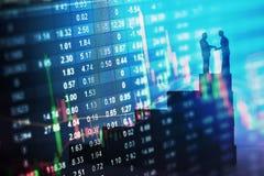 Conceito da estratégia do mercado de valores de ação Imagem de Stock