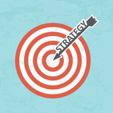 Conceito da estratégia empresarial Imagem de Stock Royalty Free