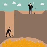 Conceito da estratégia empresarial Imagens de Stock Royalty Free