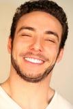 Conceito da felicidade e da alegria/menino de sorriso fotografia de stock