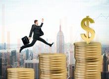 Conceito da finança Fotografia de Stock Royalty Free