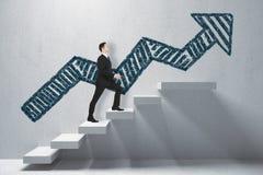Conceito da finança e do crescimento Imagem de Stock