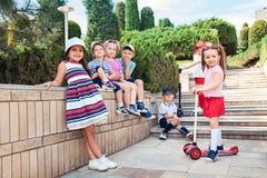 Conceito da forma das crianças Imagem de Stock Royalty Free