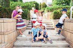 Conceito da forma das crianças Foto de Stock Royalty Free