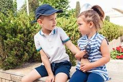Conceito da forma das crianças Foto de Stock