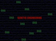 Conceito da genética fotografia de stock