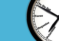 Conceito da gestão de tempo Imagem de Stock Royalty Free
