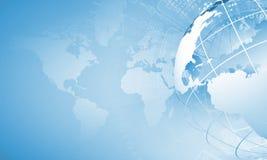 Conceito da globalização Foto de Stock Royalty Free