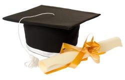 Conceito da graduação imagens de stock