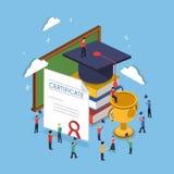 Conceito da graduação Imagem de Stock