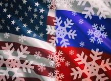 Conceito da guerra fria ilustração stock