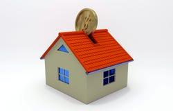 Conceito da hipoteca Fotografia de Stock Royalty Free