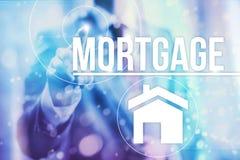 Conceito da hipoteca imagem de stock royalty free