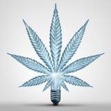 Conceito da ideia da marijuana Imagem de Stock