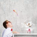 Conceito da infância Imagens de Stock Royalty Free