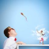 Conceito da infância Imagens de Stock