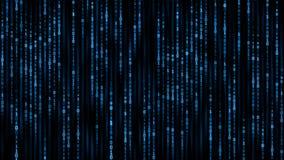 Conceito da informação de Digitas - fundo do código do binare ilustração do vetor