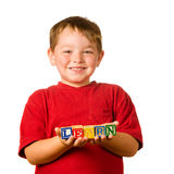 Conceito da instrução pré-escolar Foto de Stock
