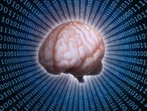 Conceito da inteligência artificial Fotografia de Stock Royalty Free