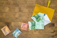 Conceito da lavagem de dinheiro fotos de stock