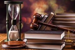 Conceito da lei. Código da lei imagens de stock